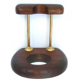 New Positive Stand Rack Hold Case Display Wood Pipe For 1 Smoking Pipe Arch 1