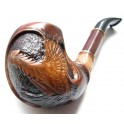 New Capercaillie Bird 7.2 inch Hand Carved Tobacco Smoking Pipe