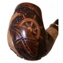 Marine New Hand Carved Tobacco Smoking Pipe 5.6 inch