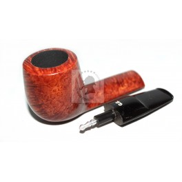 Hand Carved 5.2 inch / 130 mm Tobacco Briar Smoking Pipe Luxury Red Rustic