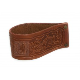 Stand Rack Hold Case For one Smoking Pipe Leather Stand for Pipe
