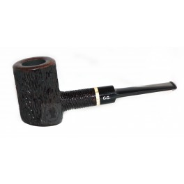 BRIAR Smoking Pipe, tobacco smoking pipe, smoking pipe POKER Black - GG + Gift