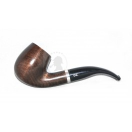 NIB Handmade Beechwood Tobacco Smoking Pipe, + metal cooling filter