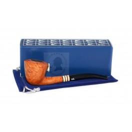 NIB Custom made BRIAR Smoking pipe Handmade, Yellow Fire, Tobacco Smoking Pipes
