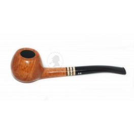 * Prince * Hand Carved Italy Briar Tobacco Smoking Pipe for direct smoking with cooling filter