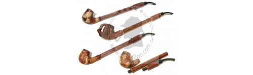 Hookah Long Leather Pipes